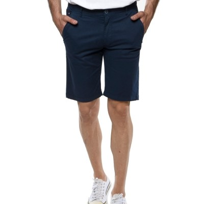 Camaro chino sweat shorts-blue navy