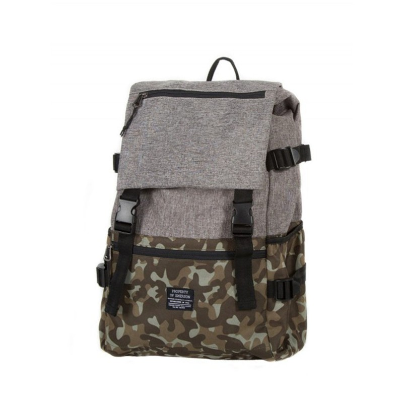 EMERSON BASIC BACKPACK -  CAMOUFLAGE / GREY