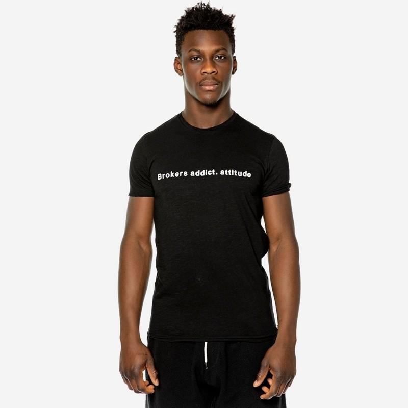 BROKERS T-SHIRT - BLACK