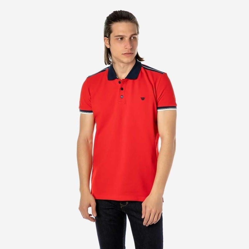 BROKERS ΜΠΛΟΥΖΑ POLO - RED