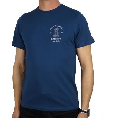 EMERSON T-SHIRT - BLUE