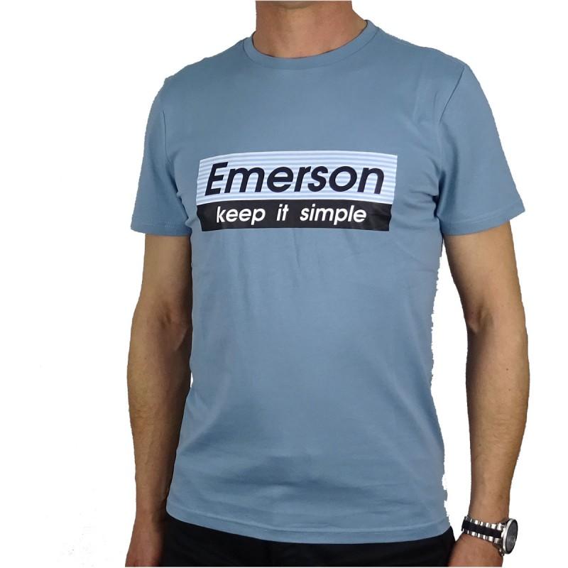 EMERSON T-SHIRT - CIEL