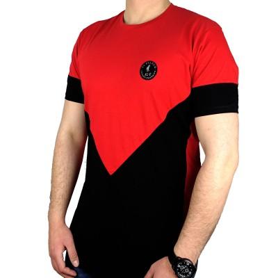 AL FRANCO T-SHIRT - RED/BLACK