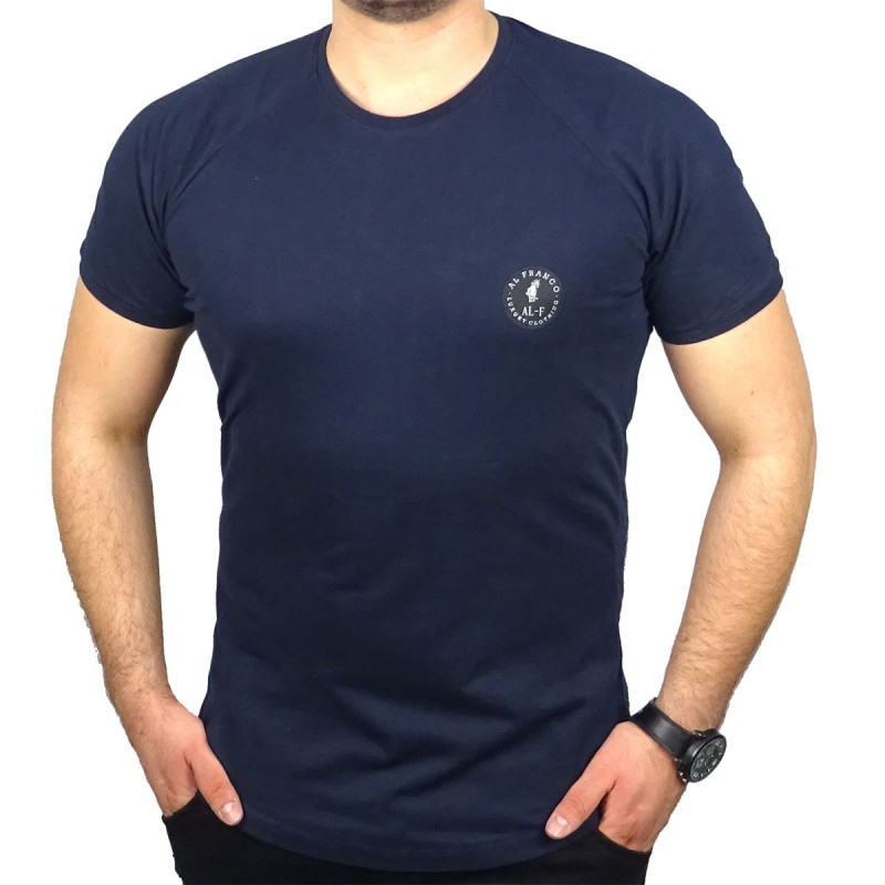 AL FRANCO T-SHIRT - BLUE