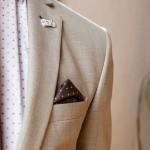 Tresor καρό κοστούμι slim fit