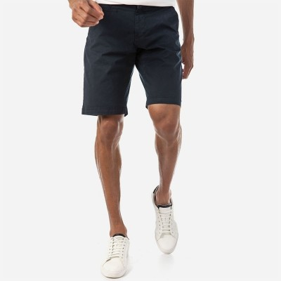 Camaro chino sweat shorts-blue