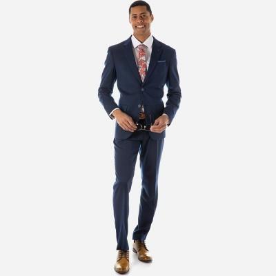 Sogo κοστούμι regular fit - Blue