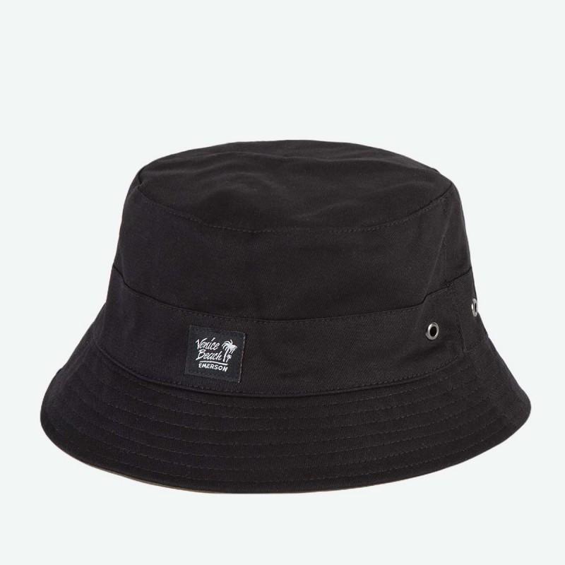 Emerson Unisex Bucket Hat-Black/olive