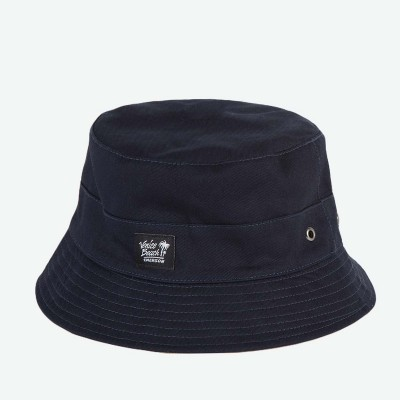 Emerson Unisex Bucket Hat-Navy/sand