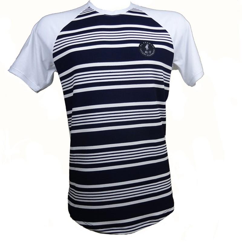 Al franco t-shirt-black- white