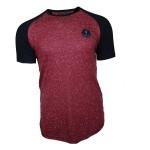 Al franco t-shirt-black- red