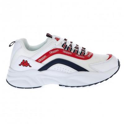 Kappa Γυναικεία Παπούτσια Dobla-WHITE RED BLUE