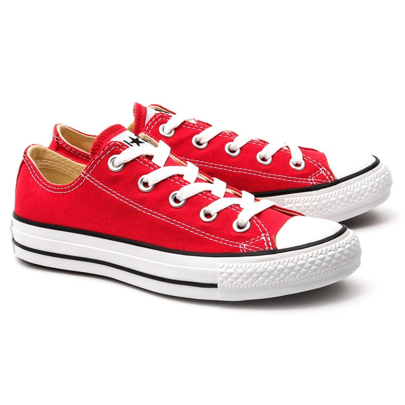 CONVERSE ALL STAR LOW  -  RED