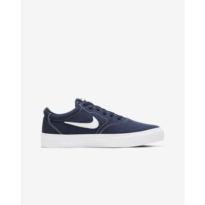 NIKE SB CHARGE CANVAS-NAVY BLUE